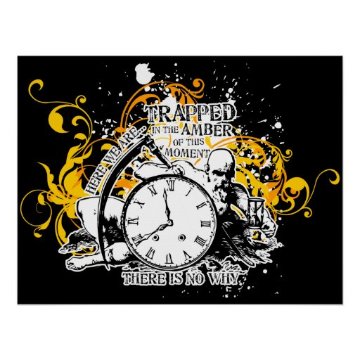 Trapped In The Amber Poster $24.95