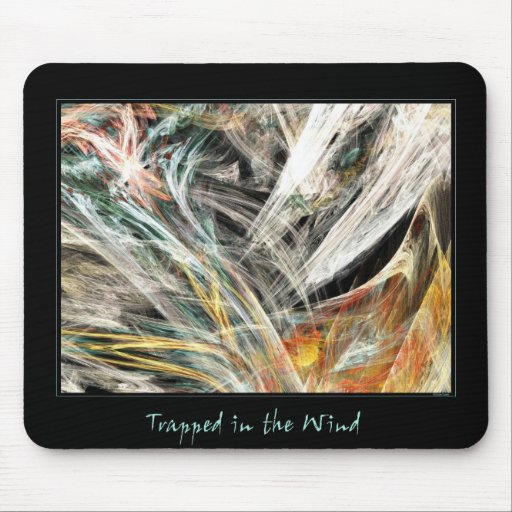 Trapped in the Wind Mouse Pad
