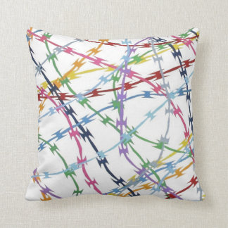 Trapped Multi Throw Pillows