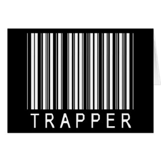 Trapper Bar Code Card