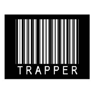 Trapper Bar Code Postcard