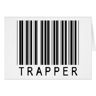 Trapper Barcode Card