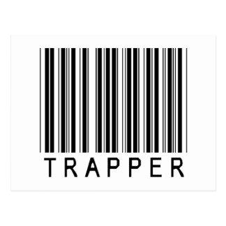 Trapper Barcode Postcard