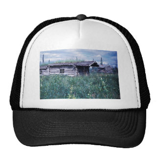 Trapper Cabin Along the Banks of the Coleen River Trucker Hat