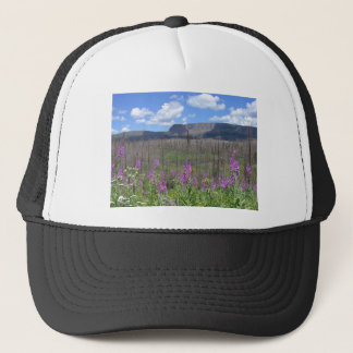 Trapper's Lake Fireweed Flowers Trucker Hat