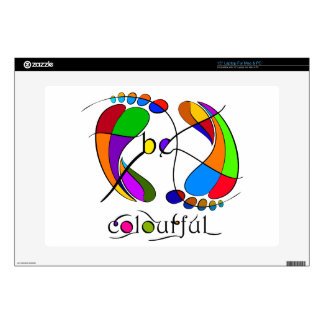 Trapsanella - be colourful decals for laptops