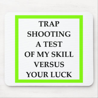 TRAPSHOOT MOUSE PAD