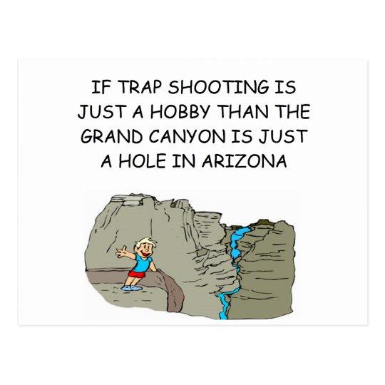 TRAPSHOOTing Postcard