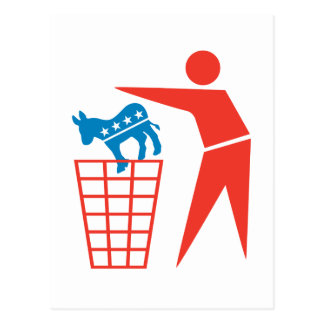 Trash a los Demócratas en 2012 Postal