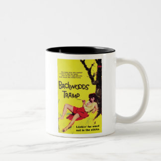 TRASH-Backwoods-Tramp Two-Tone Coffee Mug