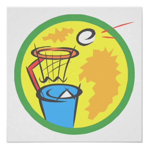 Trash Ball Poster