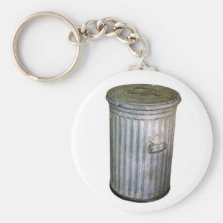trash bin keychain