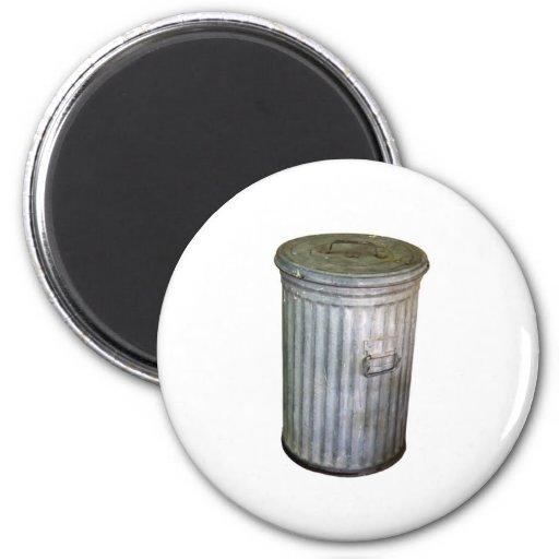 trash bin refrigerator magnet