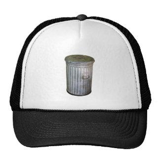 trash bin trucker hat