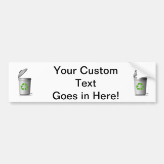 trash can lid open recycle symbol.png bumper sticker