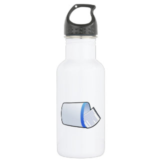 Trash Can Stainless Steel Water Bottle