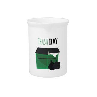 Trash Day Drink Pitcher