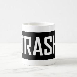 TRASH Hipster Cool Kid Trashy Earth Love Eco Love Coffee Mug