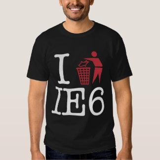 Trash IE6 Remeras