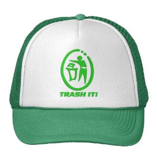 Trash it trucker hat