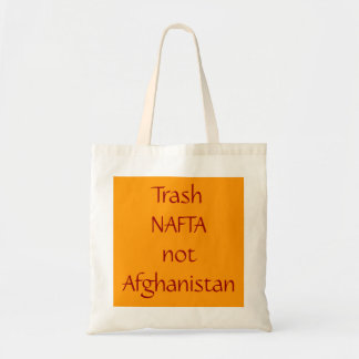 trash NAFTA Tote Bag