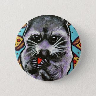 Trash Panda Finds Love Button