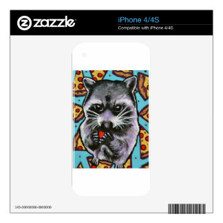 Trash Panda Finds Love Decal For The iPhone 4