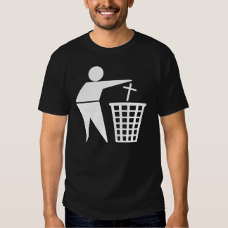 Trash Religion Atheism T-shirts