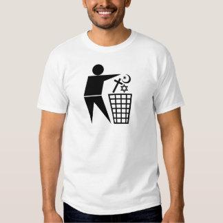 Trash_Religion_b-on-w_no-site T Shirt