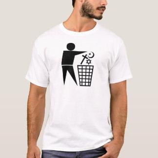 Trash_Religion_b-on-w_no-site T-Shirt