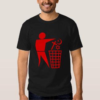 Trash Religion Network Tee Shirt