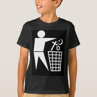 Trash_Religion_w-on-b_no-site T-Shirt
