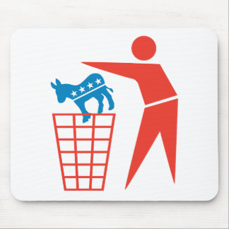 Trash the Democrats in 2012 Mouse Pad