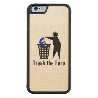 Trash the Euro Carved Maple iPhone 6 Bumper Case
