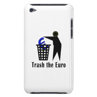Trash the Euro Case-Mate iPod Touch Case