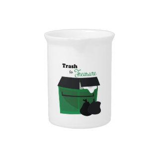 Trash To Treasure Beverage Pitchers