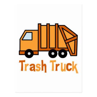 Trash Truck Postcard