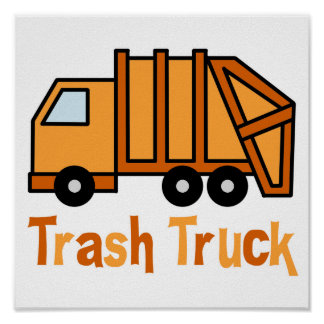 Trash Truck Poster