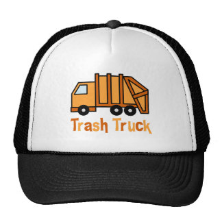Trash Truck Trucker Hat