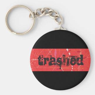 Trashed Keychain