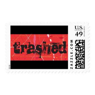 Trashed Stamp