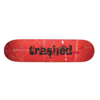 Trashed Skateboard Deck