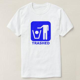 Trashed Symbol T-shirt