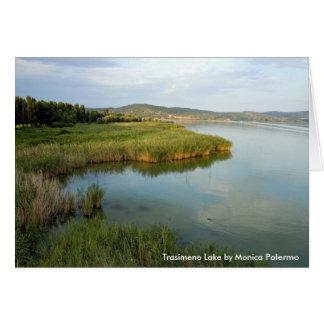 Trasimeno lake card
