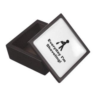 Traspaleo diario cajas de recuerdo de calidad