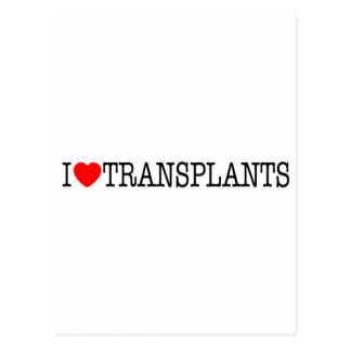 Trasplantes de corazón I Postal