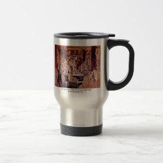 Trastero durante la renovación del museo tazas de café