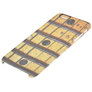 Trastes de la guitarra del vintage funda clearly™ deflector para iPhone 6 plus de unc