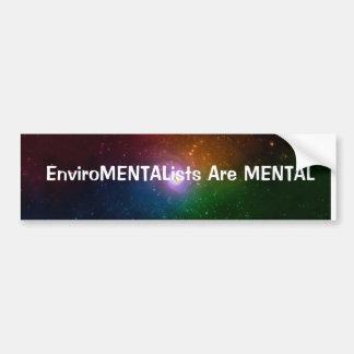 Trastorno mental pegatina para auto