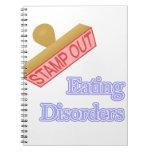 Trastornos alimentarios libros de apuntes con espiral